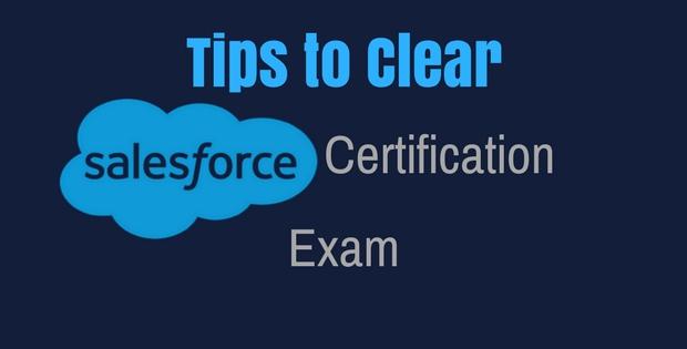 Salesforce exam tips